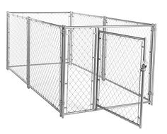 Special Offers - Lucky Dog CL 44150 Modular Chain Link Kennel 4 x 5 x 10 - In stock & Free Shipping. You can save more money! Check It (August 11 2016 at 02:31PM) >> http://dogcollarusa.net/lucky-dog-cl-44150-modular-chain-link-kennel-4-x-5-x-10/