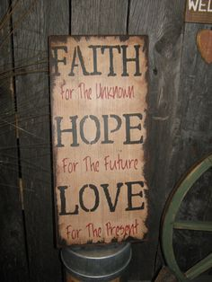 Hey, I found this really awesome Etsy listing at http://www.etsy.com/listing/120453437/primitive-sign-wood-sign-religious