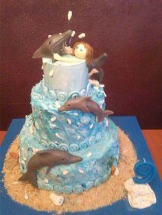 Tarta delfín