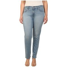 Levi's Plus Size 311 Shaping Skinny Women's Jeans ($70) ❤ liked on Polyvore