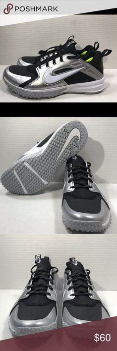 quality design c3007 2167e Nike Alpha Huarache Turf Mens Size 10.5 Baseball Nike Alpha Huarache Turf  Mens Size 10.5 Baseball