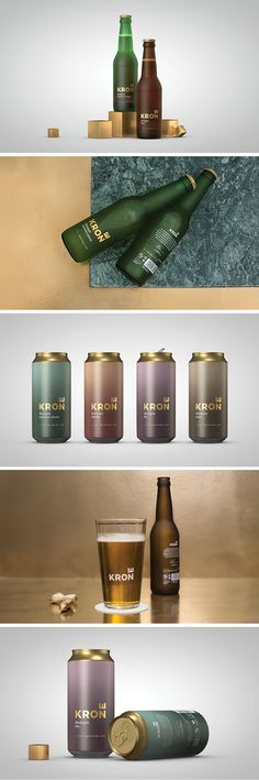 Krone (Crown) Beer packaging by [Team] Creuna Norway