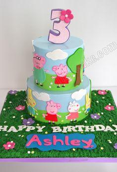 Celebrate With Cake Peppa Pig cakepins.com