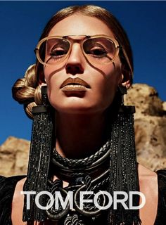 The AutumnWinter 15 Tom Ford campaign