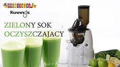 Kuvings przepis na zielony sok oczyszczający - Prowita.pl