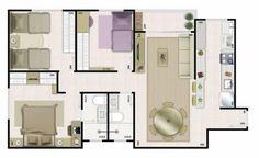 Alguns Modelos grátis de Plantas de Casas com 3 Quartos servem como inspiração para você que pretende construir sua nova casa, abuse da sua criatividade.