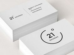 21 Degrees Business Card logo minimal corporate design black white graphic by myra Business Card Maker, Minimalist Business Cards, Cool Business Cards, Business Card Logo, Creative Business, Coperate Design, Logo Design, Graphic Design Branding, Design Cars