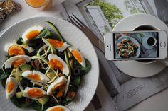 Salad for breakfast