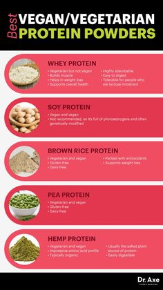 Looking at the different types of protein powder - click to learn more about each and which is best for you