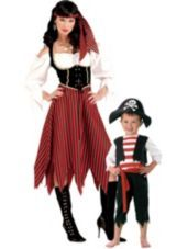 Pint Size Pirate And Pirate Maiden Mommy And Me Costumes#partycity #halloween
