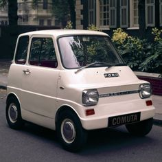 """One of Ford's best's! Ford """"Comuta"""" 1967 Electric Car  had a top speed of 40 mph and a range of 40 miles - At the time, the president of Ford told the New York Times that """"cars like the Comuta could be available in five to 10 years."""""""