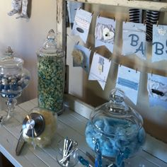 Baby shower - Candy cart