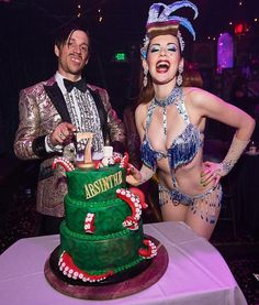 "Absinthe Celebrates Seven Years in Las Vegas with ""The Gazillionaire's Gala of Gluttony"" Las Vegas Shows, Captain Hat, Celebrities, Fashion, Moda, Celebs, Fasion, Trendy Fashion, La Mode"