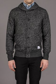 Vive Marled French Terry Shawl Cardigan