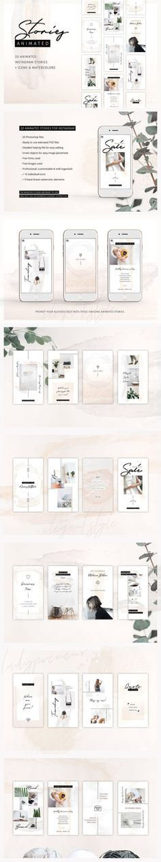 ANIMATED Instagram Stories So Female #design #creativemarket #graphicdesign #social #media #socialmedia #socialmediamarketing #onlinemarketing #marketing #instagram #story #stories #instagramstories #creative #ideas #inspiration