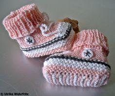 Babyschuhe Babyturnschuhe strickliene