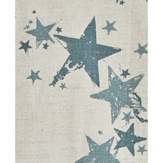 Barneby Gates All Star Fabric in Gunmetal Blue, available from www.englishabode.com