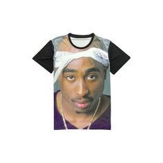2Pac Shirt ($34) ❤ liked on Polyvore featuring tops and shirts & tops