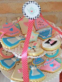 Cookies Alicia en el pais de las Maravillas
