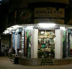 The iconic Koolar & Co Irani cafe located at Maheshwari Udyan in Matunga. One of the few eateries still serving non-veg food in this conservative suburb.