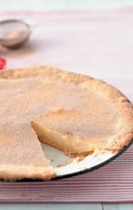 Smelt-in-jou-mond-melktert   Your Family Melktert, South African Recipes, Puddings, Kos, Tarts, Catering, Sweet Treats, Milk, Cooking Recipes