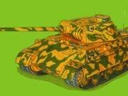 WWII Pz.Kpfw. V Ausf. D Tank Free Paper Model Download