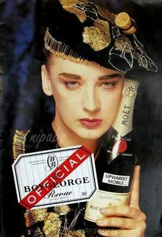 Boy George seem sad.