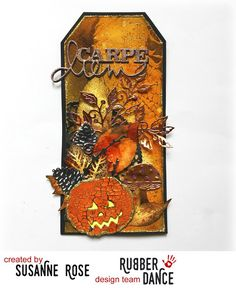 Harvest Mixed Media Tag