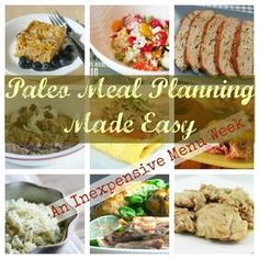 Paleo Meal Planning – Cheap