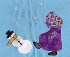 Sue kicks the Snowman, by Natalie S. from South Dakota