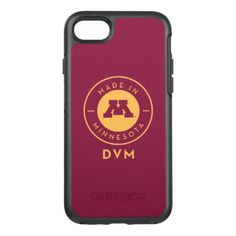 #gold - #College Of Veterinary Medicine | Gold DVM Logo OtterBox Symmetry iPhone 7 Case