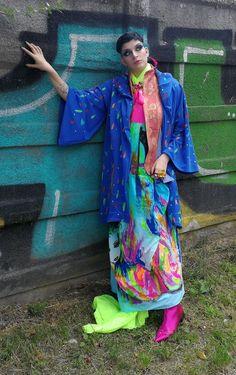 Asian Bird | mihaconcept.ro Fashion Photography, Kimono Top, Asian, Bird, Tops, Women, Women's, Birds, Birdwatching