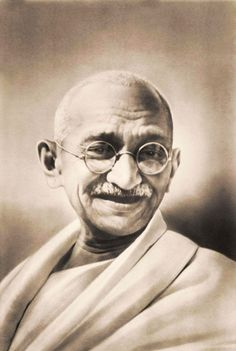 Mahatma Gandhi  Gandhi was responsible for getting the British to allow India to form its own government through his technique of satyagraha, or non-violence. Date: 1930′s. Photographer: Unknown.