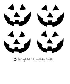 Free Printable easy funny jack o lantern face stencils patterns Funny Jack O Lanterns, Jack O Lantern Faces, Jack Lantern, Templates Printable Free, Free Printables, Printable Stencils, Pumpkin Face Templates, Funny Faces Images, Face Stencils