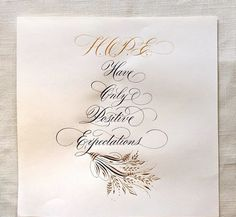 Beautiful Calligraphy & Flourish Envelopes by the hand of Professional Calligrapher & Artist: Suzanne Cunningham / #Instagram @suzcunningham