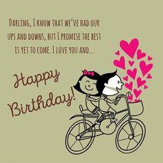 happy birthday to boyfriend