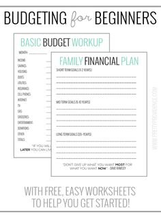 Budget Worksheet Printable  Get Paid Weekly And Charlie Gets Paid