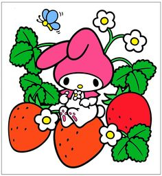 Sanrio My Melody Strawberries http://shop.kawaiidepot.com