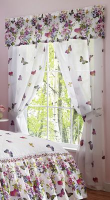 Butterfly Garden Drapery