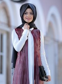 Miranda Yelek - Bordo - Pınar Şems