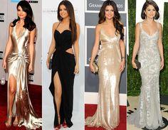 Vestido Preto-Selena Gomes
