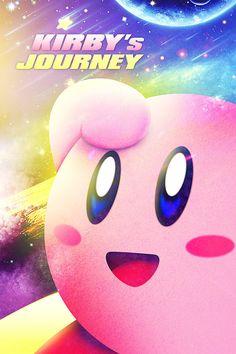Kirby's Journey by Digital-Iconic.deviantart.com on @deviantART