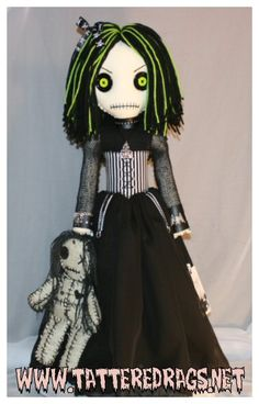 little halloween voodoo doll