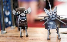 Home Decorative - Recycled Art, Animals