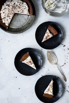 A seriously decadent Triple Chocolate Fudge Pie so good it's been known to disappear in one night.