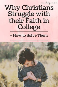 This is what I want this whole bible study to be centered around. Faith is always going to be challenged but I don't want students to feel so lost they feel they have no purpose for faith. I think this has some great resources for this topic. College Hacks, College Life, College Girls, Young Adult Ministry, Youth Ministry, Christian College, Christian Life, Christian Living, Online College Degrees