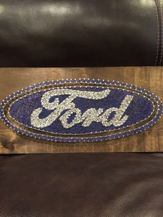 Ford string art 12x24 by CassidiesCreations on Etsy