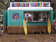 Hawaiian shave ice... Soooooo good! Much smoother and better than snow cones!