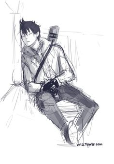 Frank Zhang...is it? it doesn't look much like him <-------- IT'S SLEEPING RIN OKUMURA FROM BLUE EXORCIST ...who's reminding me of percy for some reason