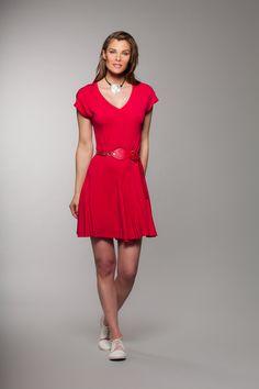 P/É 2015 www.muse-cchenail.com Short Sleeve Dresses, Dresses With Sleeves, Muse, High Neck Dress, Fashion, Spring Summer 2015, Moda Femenina, Turtleneck Dress, Moda